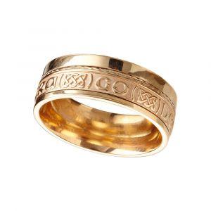 Ladies-14kt-Yellow-Gold-Celtic-Wedding-Band