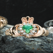 Why Choose an Emerald Claddagh Engagement Ring