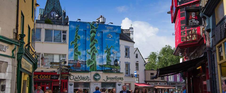 Beanstalk Mural