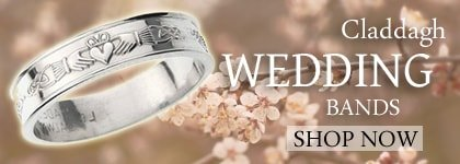 Claddagh Wedding Band Collection