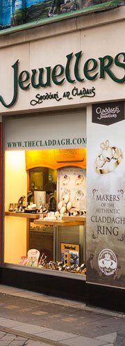claddagh jewellers store front