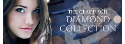Diamond Claddagh Ring Collection