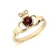 https://thecladdagh.com/9kt-yellow-gold-natural-garnet-claddagh-ring.html