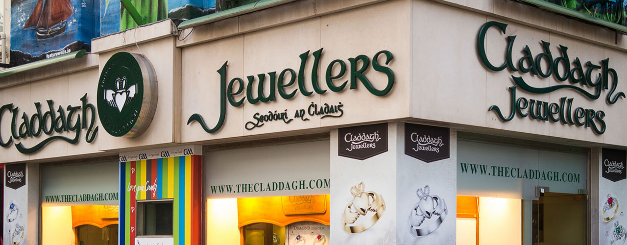 Claddagh Jewellers Store Front In Galway
