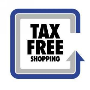 Tax Free Shopping Icon
